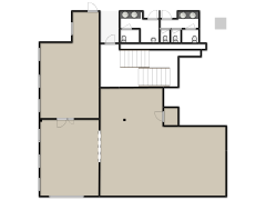 Rt. 35 First Floor Vacant Space - Plan B made with Floorplanner