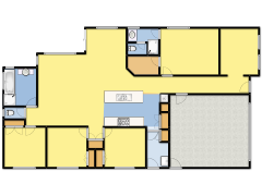 91A Sayers Road - My first design made with Floorplanner