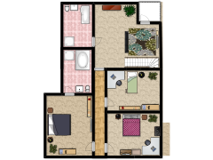 Rebecca's House - First Design made with Floorplanner