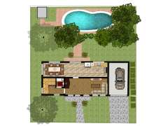 New floorplan - First design made with Floorplanner