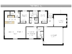 house 1 - My first design made with Floorplanner