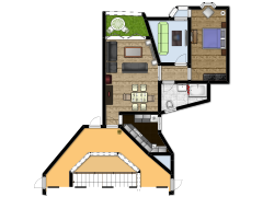 home - First design made with Floorplanner