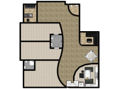 New floorplan - house made with Floorplanner