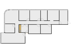 Rt 9 Suite 106 Dr. R's Office Extended Space Layout(copy) - Dr. Roche's office made with Floorplanner