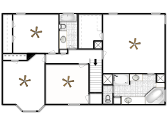 1802 Country Walk Lane - First design made with Floorplanner