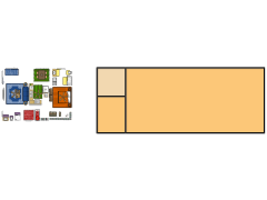 New floorplan - ijkl made with Floorplanner