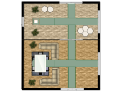 japaneses house (copy) - My first design made with Floorplanner