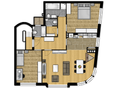 Marie_Josee_44 - Etage made with Floorplanner