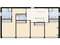 The Lodge - Empty floor plan made with Floorplanner