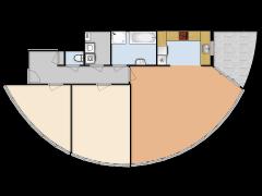 Treslongstraat 102  - Eerste ontwerp made with Floorplanner