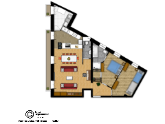 PLAN RUE PAUL BROUSSE - Appartement made with Floorplanner