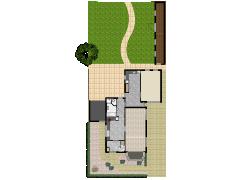 Schapendreef 18 - Beg.sfeer.tuin. made with Floorplanner