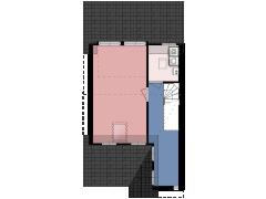 3598 - KEIZER-VLEU - Hoornbloemlaan 11 - Vleuten - TV made with Floorplanner